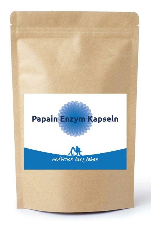 Enzym Kapseln Papain 100 Stück vegan Image