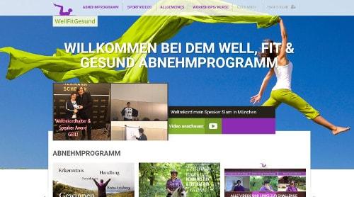 well, fit und gesund Abnehmprogramm